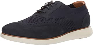 Florsheim Mens Foster Dress Casual Knit Wing Tip Oxford