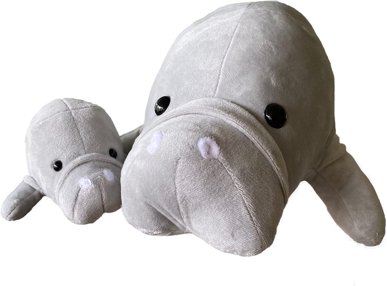 Manatee Max 80% OFF Stuffed Animals Super Soft Plush Ocean - Mother Cow Sea Brand new
