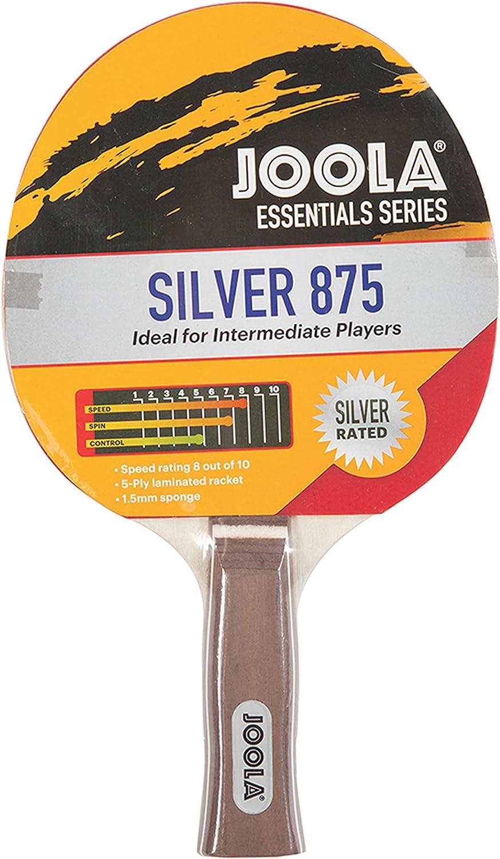 JOOLA Essentials Series Silver 875 2021 new Tennis Max 53% OFF Table Racket