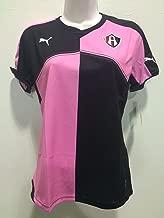 Atlas Rojinegros Zorros black-pink breast Cancer woman jersey playera puma 2015-2016