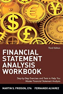Financial Statement Analysis Workbook: Step-by-Step Exercises and Tests to Help You Master Financial Statement Analysis, Third Edition