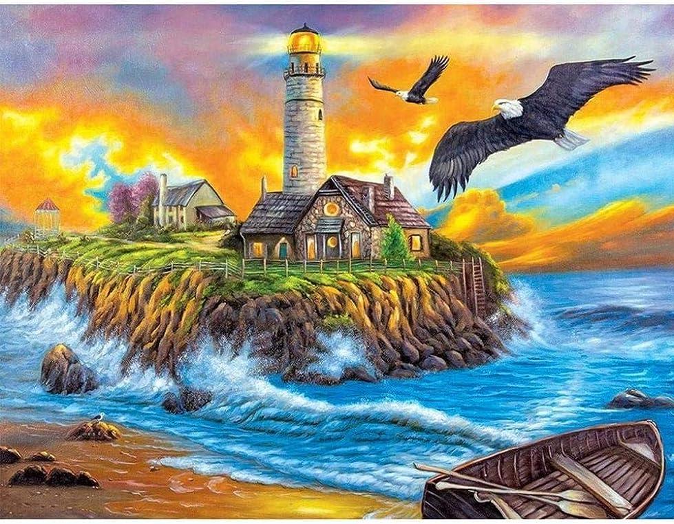 ピクニックオーストラリア発動機N/C ?絵画??油絵ランドスケープアート家の壁の装飾のためのアート付きペイント数字によるDIY絵画