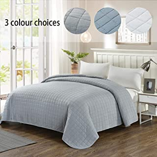 Best gray king size quilt Reviews