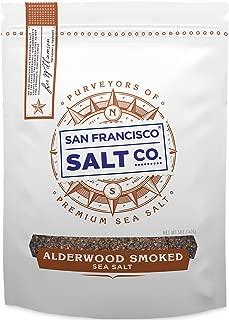 Alderwood Smoked Sea Salt - 5 oz. Fine Grain by San Francisco Salt Company