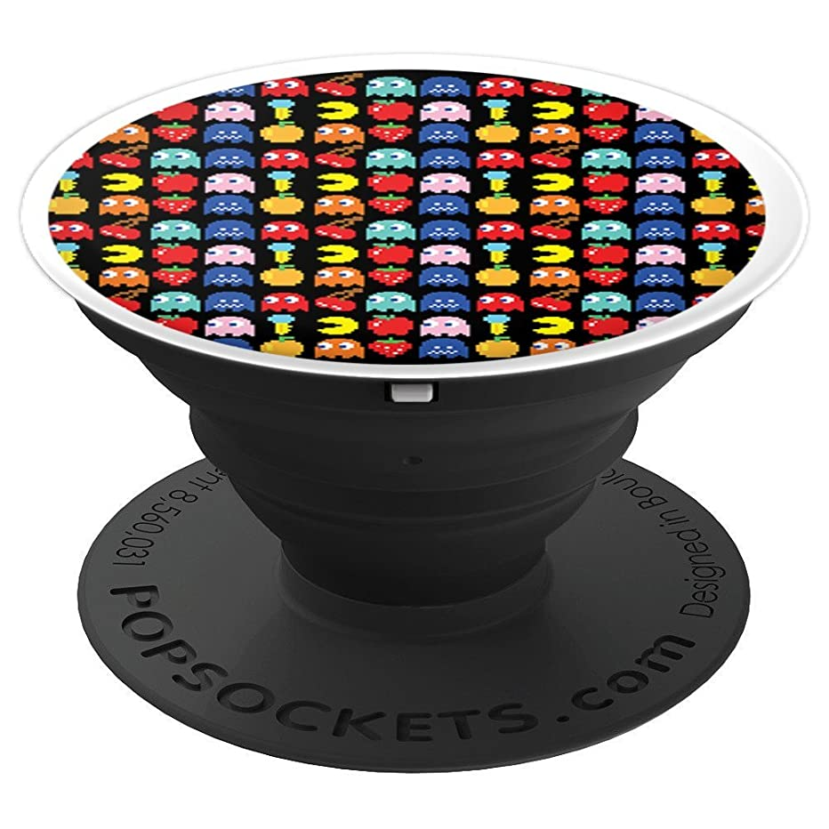 Cartoon Pac Man I Love Vintage Retro Style - PopSockets Grip and Stand for Phones and Tablets