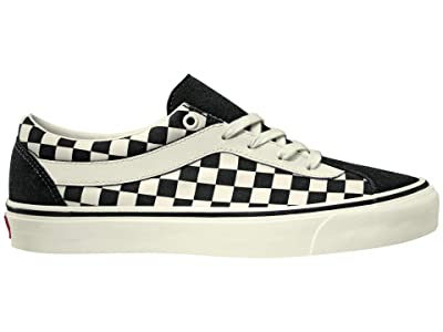 Vans Bold Ni ((Checkerboard) Black/Marshmallow) Athletic Shoes