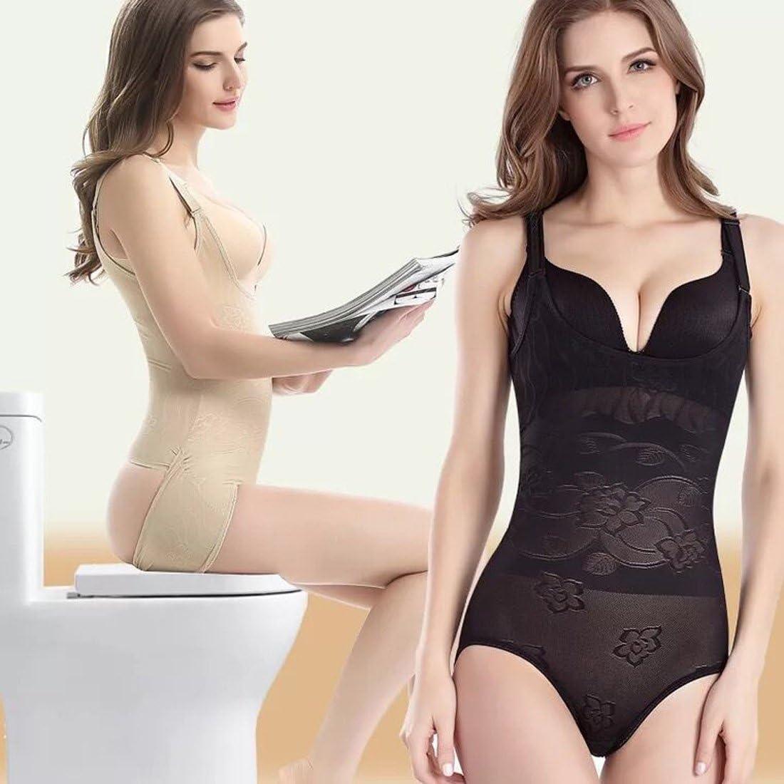 Anwedding Faja Reductora Camiseta Moldeadora de Abdomen y Cintura Body Shaper Efecto Push Up para Mujer
