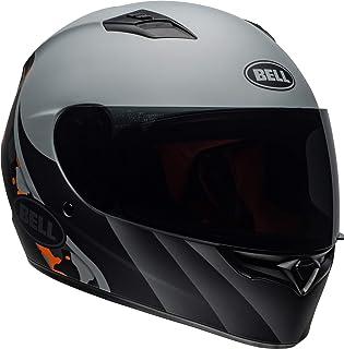 Bell Qualifier Full-Face Motorcycle Helmet (Integrity Matte Grey/Orange Camo, XX-Large)
