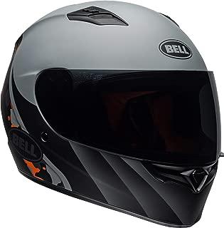 Bell Qualifier Full-Face Motorcycle Helmet (Integrity Matte Grey/Orange Camo, Medium)