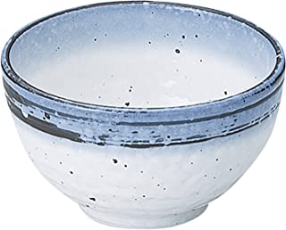 光洋陶器(Koyotoki) 丼 白 450ml 4.0 石目丼 なごり雪柄 51528036