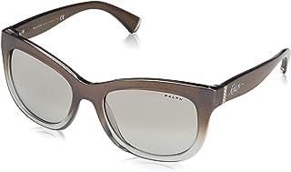 e1361021be Ralph Lauren RALPH BY 0Ra5234 Gafas de sol, Pearl Silver Gradient, 53 para  Mujer