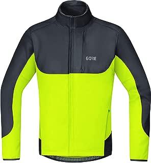GORE BIKE WEAR Men's C5 Gws Thermo Trail Jacket, Black/neon Yellow, X-Large