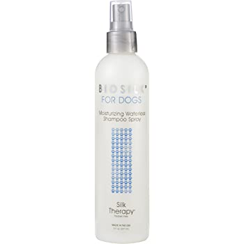 BioSilk for Dogs Combo Pack Deep Moisture Waterless Shampoo Spray