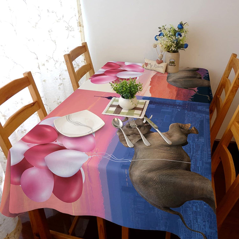Cheap sale TH XHome Tablecloth Linen Burlap Weights Fabric Elephan Tourist online shop