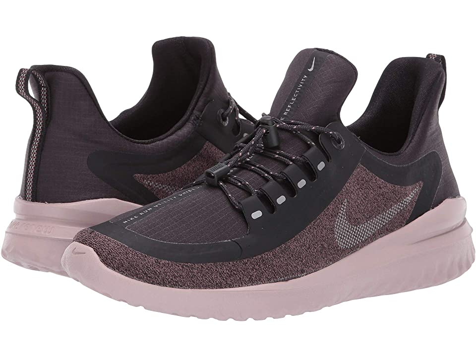 Nike Womens Free RN 2018 Shield Oil GreyReflect Silver Smokey Mauve