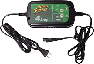 Battery Tender 022-0209-DL-WH 4A Selectable Charger is an AGM/Standard or GEL/Lithium Iron Switchable, 12v or 6v Switchable at 4a, Includes Rings & Clips. It Will Never Over Charge Your Battery