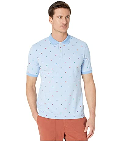 Scotch & Soda All Over Printed Polo in Stretch Pique Quality (Combo C) Men