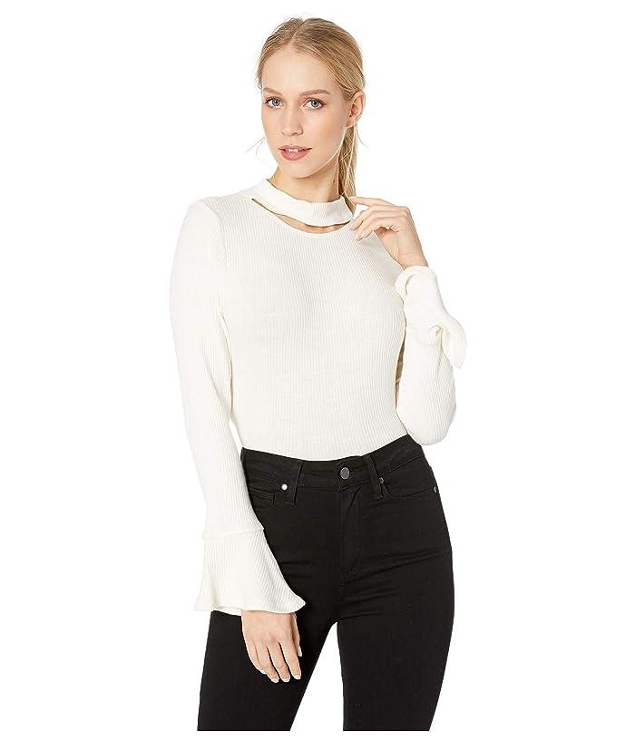 LNA Franz Slub Sweater Top (Jet Stream) Women