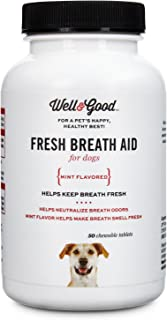 Well & Good Fresh Breath Dog Tablets, 50 Count