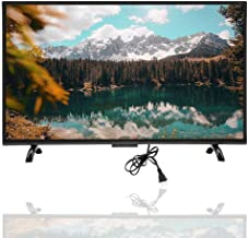 $297 » Mugast 32 Inch Smart Curved TV,1920x1200 300cd/m2 3000R Curvature VGA/AV/USB/HDMI/RF/WiFi 4K HDR Home Television Display Screen with Artificial Intelligence Voice for PC(US)