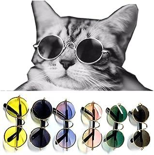 Gafas de sol para mascotas, Favolook Fashion para perros, gatos, gafas, gafas, gafas de protección UV para mascotas, gafas de frío, gafas de fotos para mascotas