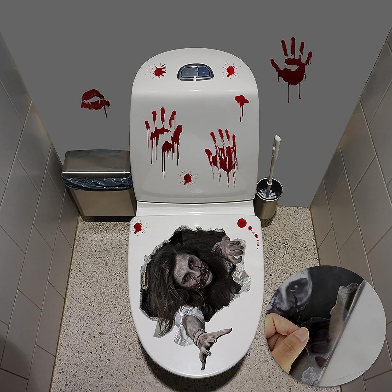 uhnmki Halloween Female Ghost Wall Decal Sticker New product Latest item type Dec Window Home