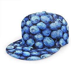 POEMSM Men & Women Hawaiian Flower Adjustable Unisex Snapback 3D Printed Cap Hat
