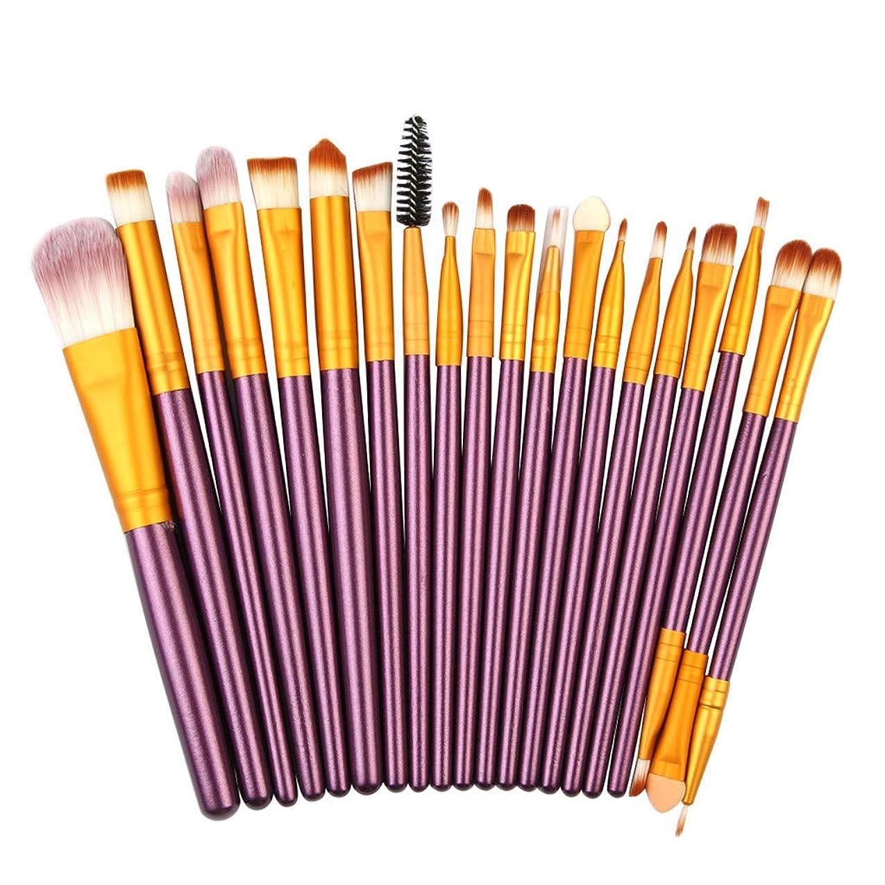 欲しいです努力一時的メイクブラシ 化粧ブラシ 20本 化粧筆 パウダー ファンデーション アイシャドウ アイライナー リップ シャオメイスター