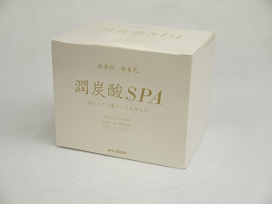 管理する耕す質量潤炭酸SPA  BS (炭酸泉タブレット)60g×10錠入 カルボ泉