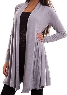 Cardigan donna fiori maglioncino pullover maniche lunghe girocollo nuovo XD-3229