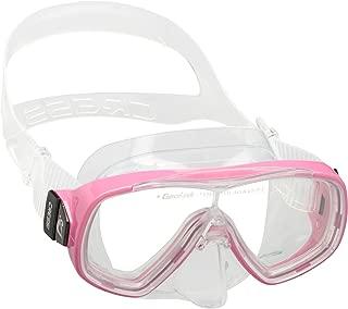Cressi 科越思 中性童 ONDINA JR潜水面镜适合7-13岁少年儿童 DN206940 透明/粉色