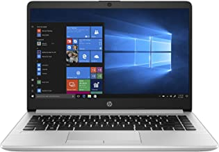 HP Notebook PC 348 G7 14-inch Laptop (10th Gen Core i7-10510U/8GB/1TB HDD/DOS/Intel UHD 620 Graphics), Silver