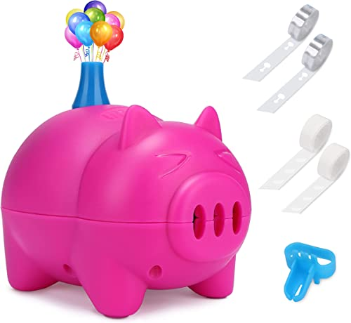 LIKEE Electric Balloon Pump Portable Balloon Inflator Air Blower with Balloon Arch &Garland Kit for Party Decoration ...