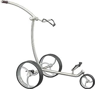 Fasan Golftrolley 中性 – 成人野鸡推车 高尔夫带运输包,铬色,62x31x18厘米