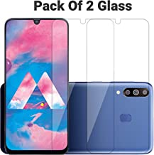 POPIO Tempered Glass Screen Protector for Samsung Galaxy M31 /M30S / M30 / A50S / A50 / A30S / A30 (Transparent) Full Screen Coverage (except edges) with Easy Installation Kit, Pack of 2