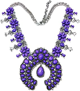 Best turquoise blossom necklace Reviews