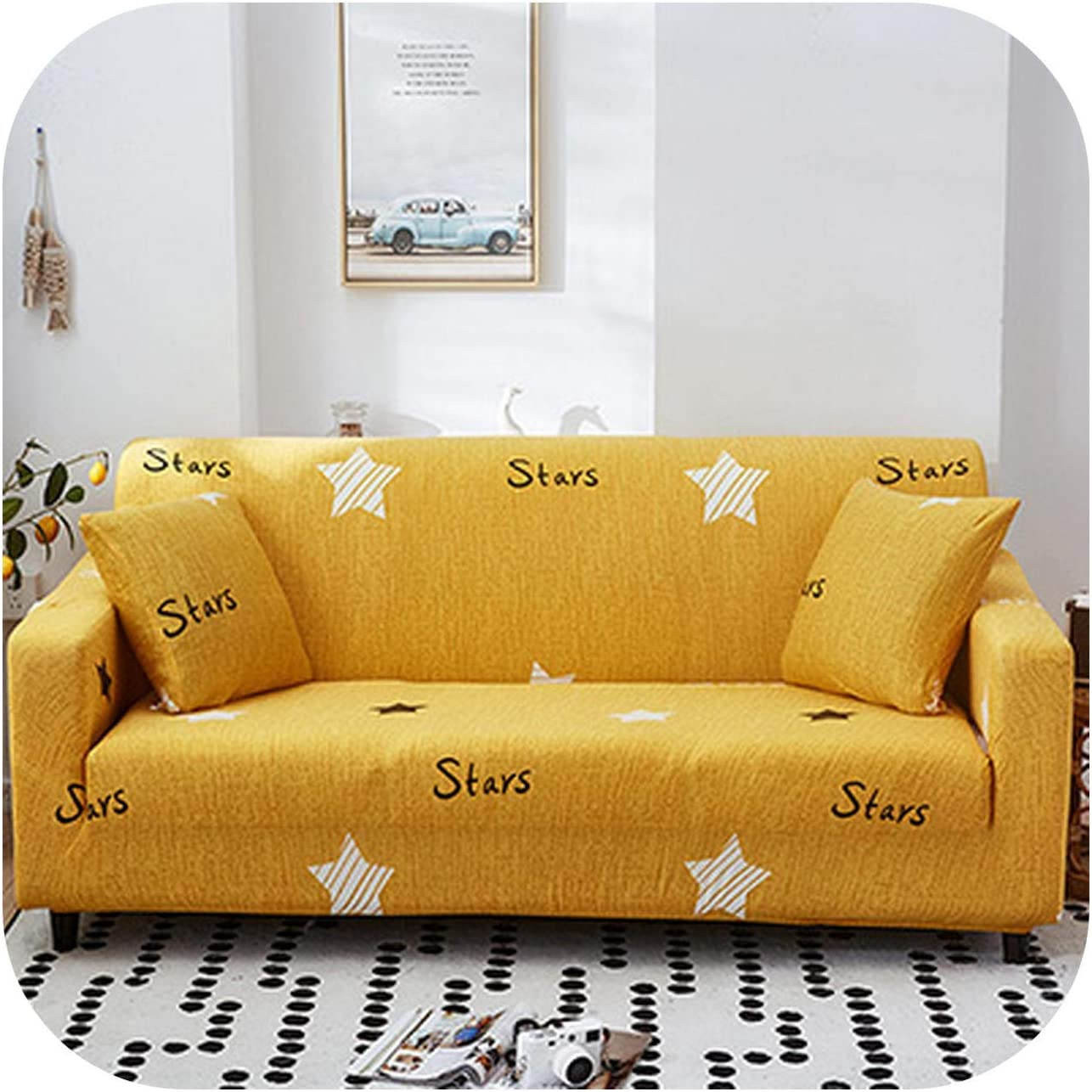Elastic Sofa Cover Fashion Pattern Spring new work one after another Slipcover El Paso Mall Feather