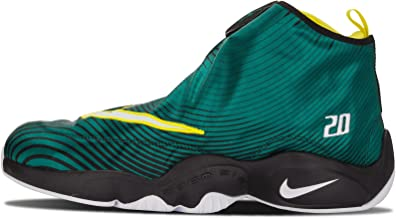 Nike Mens Air Zoom Flight The Glove QS Gary Payton Fabric Basketball Shoes