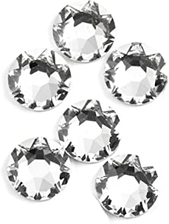 Swarovski - Create Your Style Flatback 8mm Crystal 3 packages of 6 Piece (18 Total Crystals)