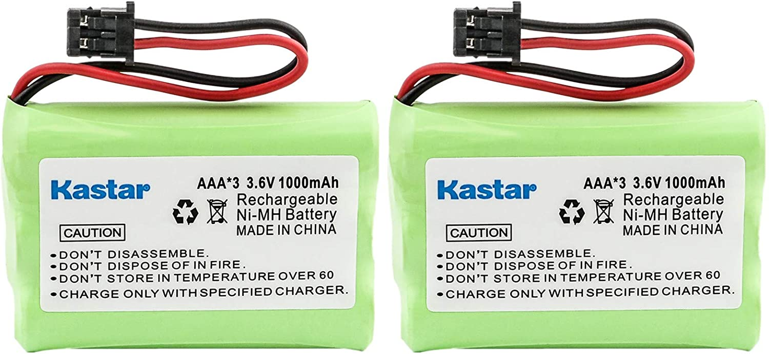 Kastar Direct stock discount 2-Pack AAAX3 3.6V MSM Ni-MH Superlatite Rechargeable 1000mAh Battery