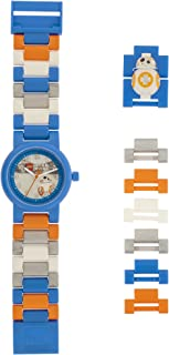 LEGO Watches and Clocks Boy's 'Star Wars BB-8' Quartz Plastic Casual watch, Color:Blue (Model: 8020929)