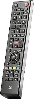 One For All URC1919 - Mando a Distancia de reemplazo para televisores Toshiba, Color Negro