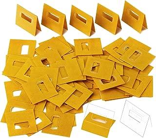 Tatuo 80 Pack Clear Vertical Blind Repair Tabs Vertical Blind Vane Saver Blind Fixers, Total 80 Tabs of 40 Set