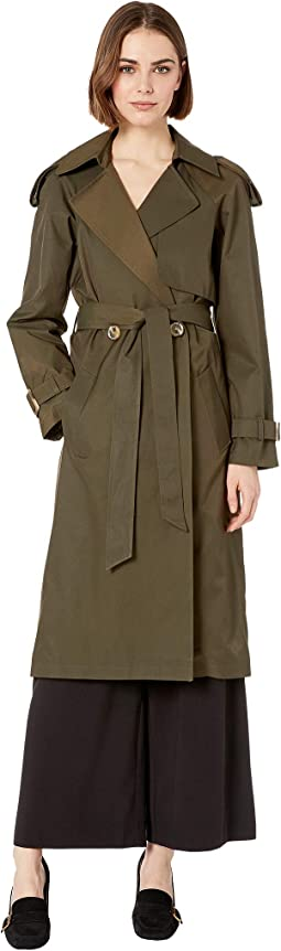 Double Breasted Duster Trench