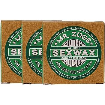 セックスワックス(SEXWAX) ワックス サーフィン 用 クイック ハンプス 3個セット