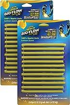 Lemon Scent BIO-Flow Drain Strips | Drain Cleaner & Deodorizer | Drain Sticks | Garbage Disposal Deodorizer | Sink Drain Cleaner - 24 Drain Strips