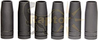 Gasless Fluxed Cored Nozzles MB15 15AK 15 AK EV-15 Coated with Ceramic for Binzel Torches MIG ENDURANCE by Raptor Industrial