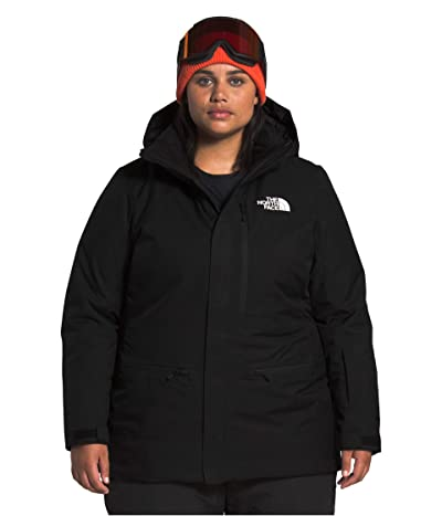 The North Face Plus Size Gatekeeper Jacket (TNF Black) Women