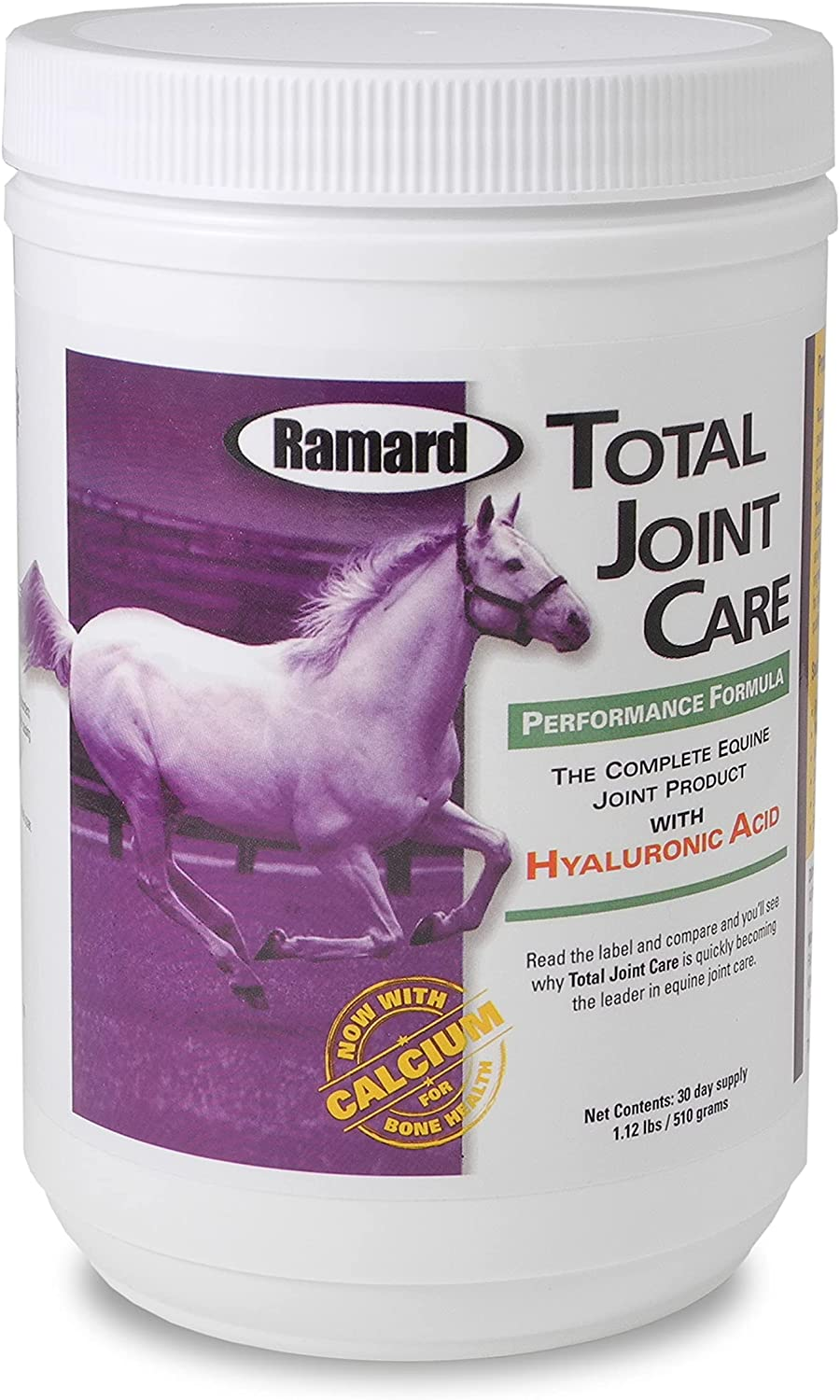 Ramard Total Joint Care Performance Supplements For Horses | Aids in Reducing Aching Joints | Replenshes Synovial Fluid in Horses and Helps Reduce Inflamation, Discomfort, and Stiffness : Horse Nutritional Supplements And Remedies : Pet Supplies