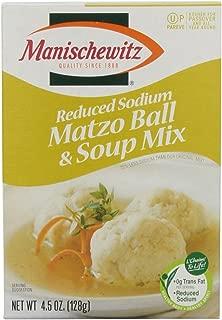 Manischewitz Reduced Sodium Matzo Ball & Soup Mix, 4.5 oz